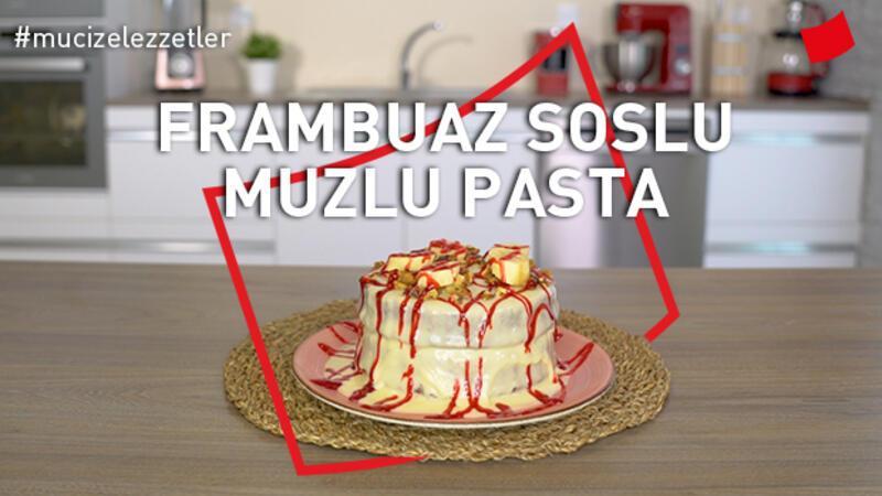 Frambuaz Soslu Muzlu Pasta | Mucize Lezzetler