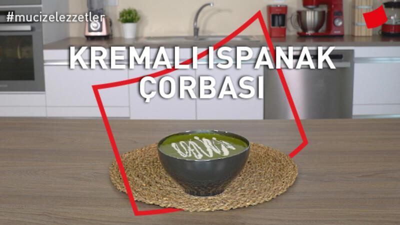 Kremalı ıspanak çorbası