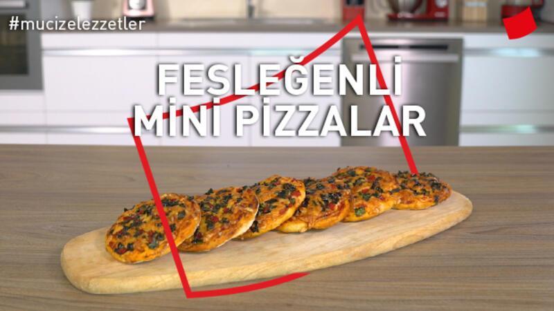 Fesleğenli Mini Pizzalar | Mucize Lezzetler