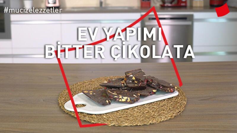 Ev yapımı bitter çikolata
