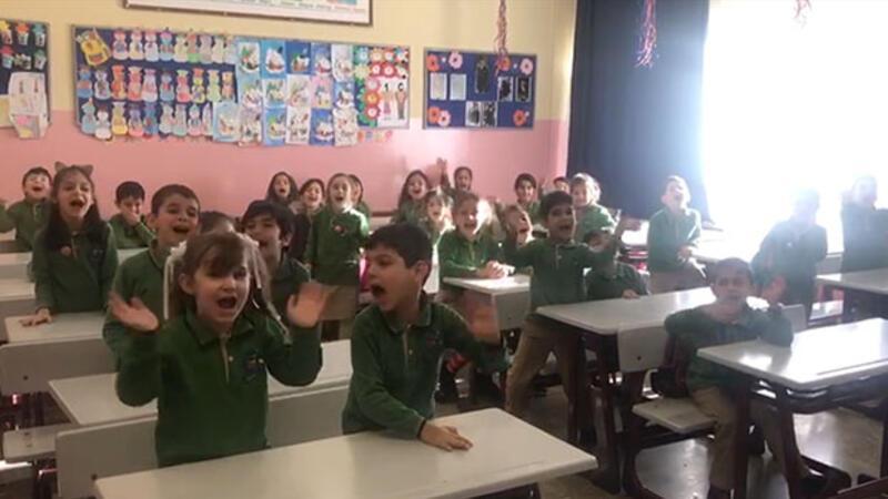 Öğrencilerin tatil sevinci başladı