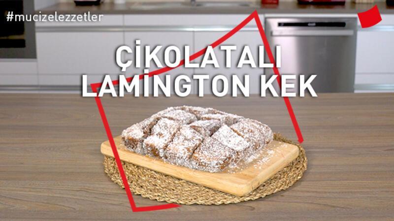 Çikolatalı Lamington Kek | Mucize Lezzetler