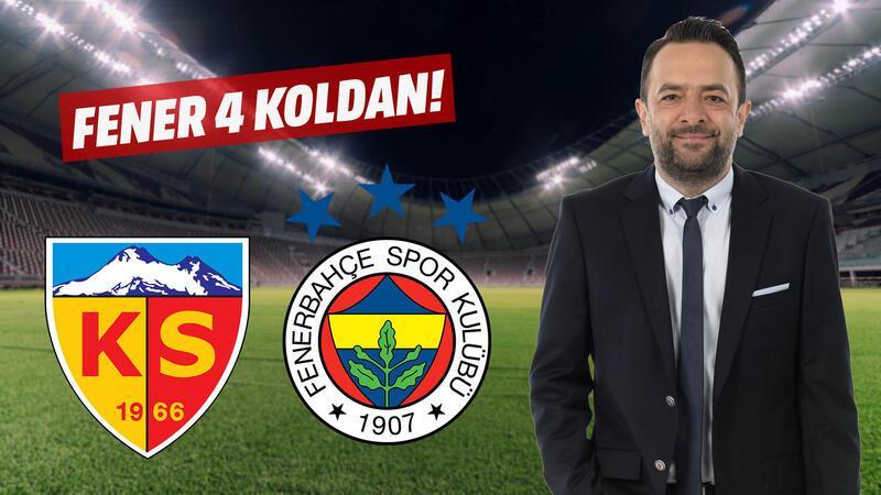 Fenerbahçe'deki gelişim 4 koldan...