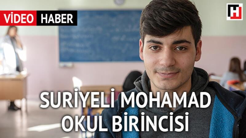 Suriyeli Mohamad okul birincisi