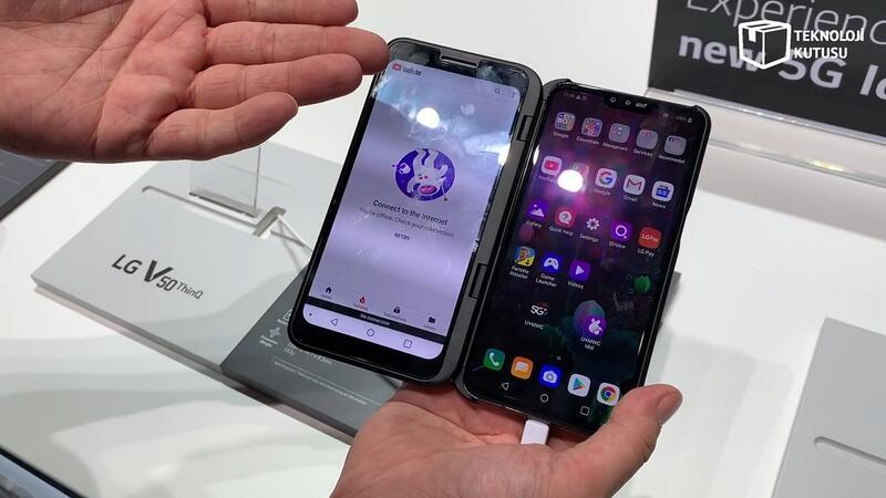 LG V50 ThinQ: İki ekranlı telefon karşınızda!