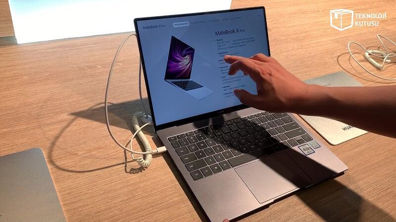 Huawei Mate X Pro: MacBook Pro'ya meydan okuyor