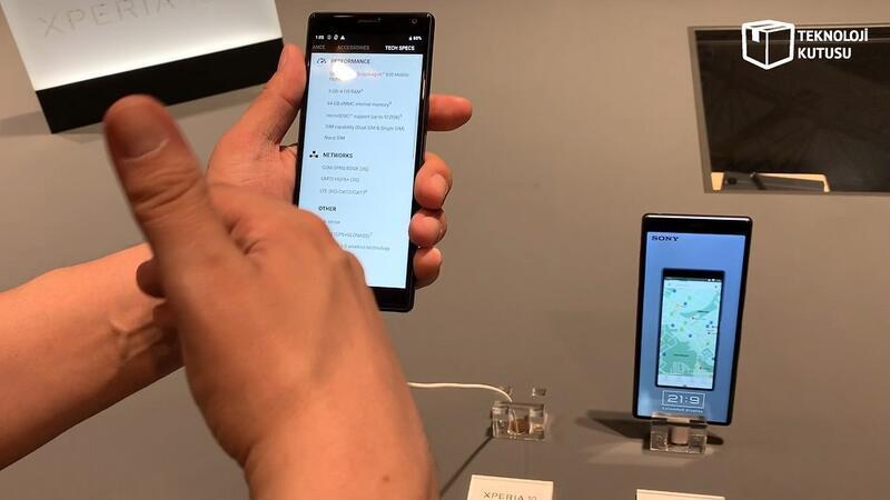 Sony Xperia 10 & Xperia 10 Plus: Sony'den iki yeni telefon daha...