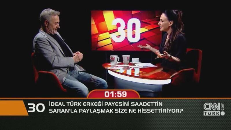 İdeal Türk erkeği payesini Saadettin Saran'la paylaşmak size ne hissettiriyor?