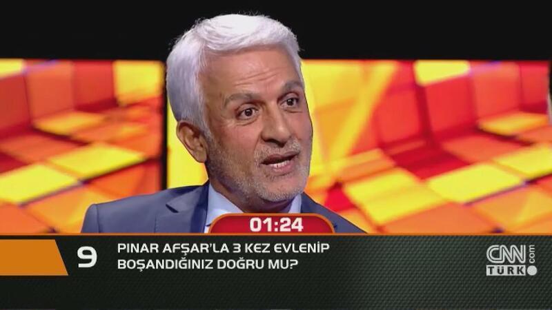Pınar Afşar'la 3 kez evlenip boşandığınız doğru mu?
