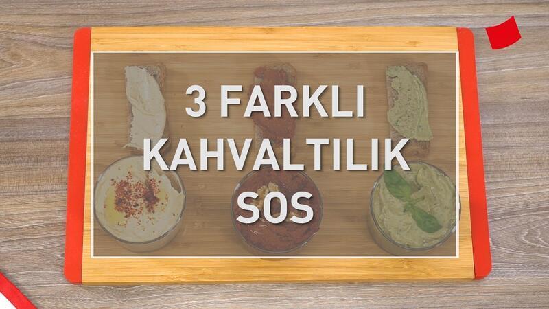 3 Çeşit Kahvaltılık Sos