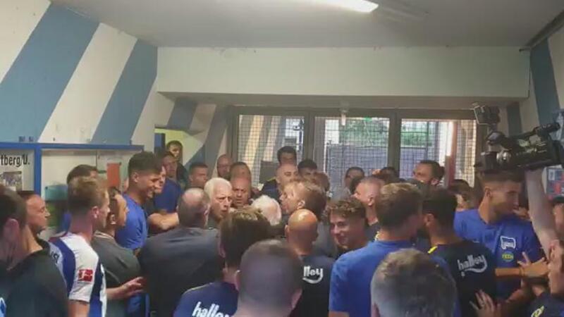 Fenerbahçe - Hertha Berlin maçı sonrası tünel karıştı!