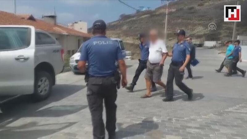 Marmara Adası'ndaki yangın nedeniyle gözaltına alınan iki kişi tutuklanarak cezaevine gönderildi