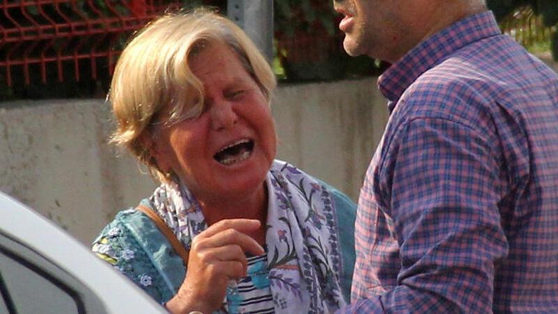 Kazada ölen işçiye halanın ağıdı yürek yaktı