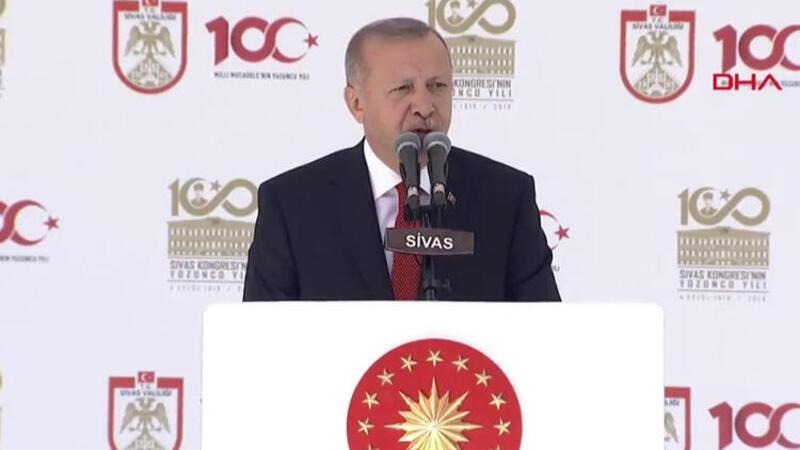 Cumhurbaşkanı Erdoğan'dan Sivas'ta önemli açıklamalar