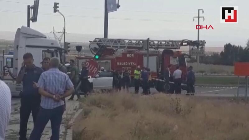 Hatay Emniyet müdürü Kamil Karabörk, trafik kazasında yaralandı