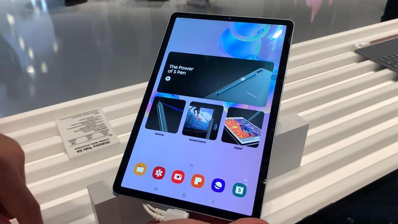Samsung Galaxy Tab S6'ya ilk bakış