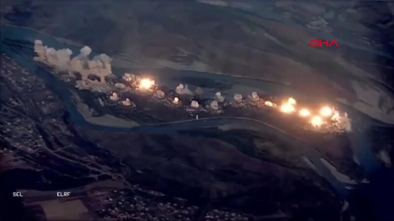 ABD önderliğindeki Birleşik Ortak Görev Gücü, DEAŞ'ı bombaladı