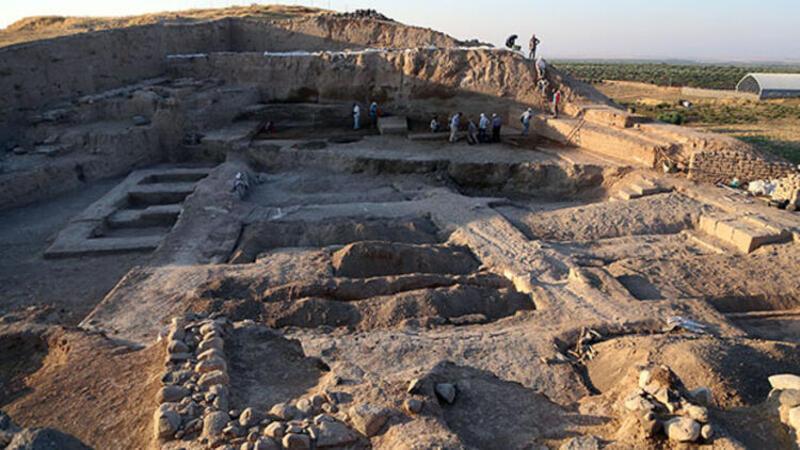 Kilis'te 4 bin yıllık saray kalıntısı bulundu