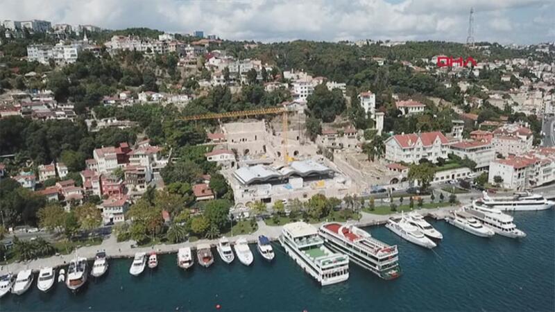 Kuruçeşme'de tartışma konusu olan otel inşaatı