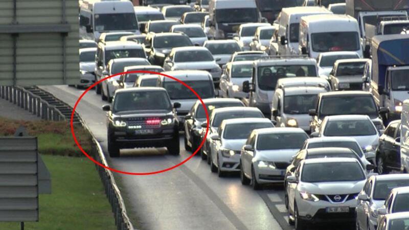 İstanbul'da trafik artınca o görüntüler yeniden başladı