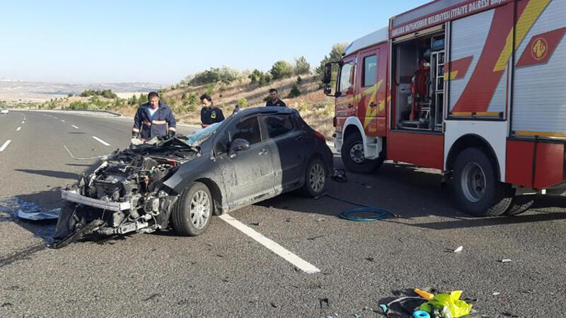Ankara'da feci kaza! Bir aile yok oldu
