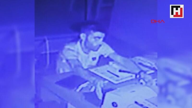 Restorana dadanan hırsızlık şüphelisi, keşif yaparken fark edilip yakalandı