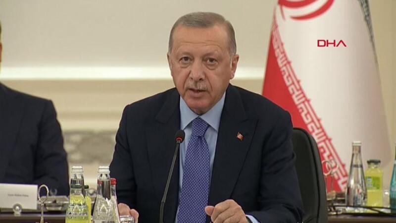 Cumhurbaşkanı Recep Tayyip Erdoğan, toplantı öncesi açıklamalarda bulundu