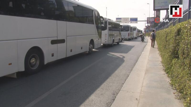 TEKNOFEST nedeniyle Atatürk Havalimanı çevresinde yoğun trafik oluştu