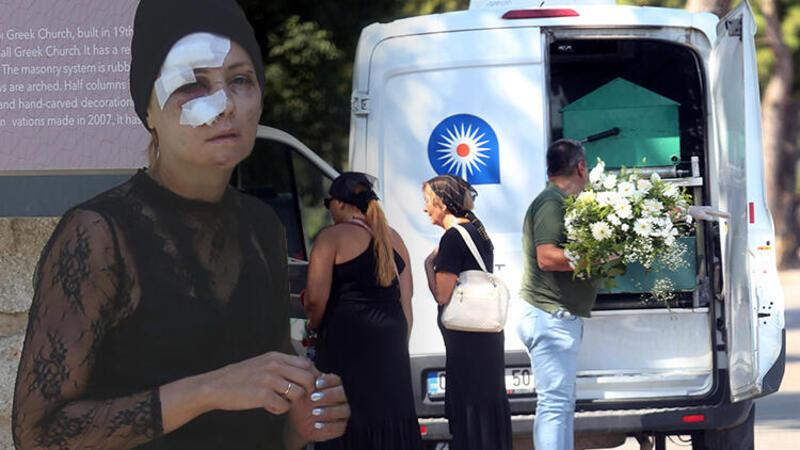 Deniz paraşütü kazasında ölen turistin cenazesi Antalya'da defnedildi
