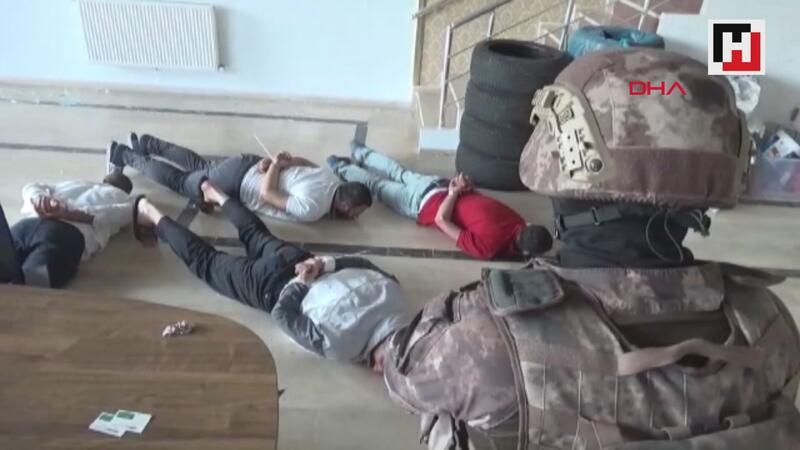 Malatya'da organize suç örgütüne operasyon: 13 gözaltı