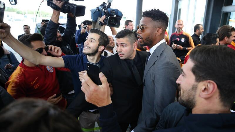 Galatasaray'a Belçika'da coşkulu karşılama