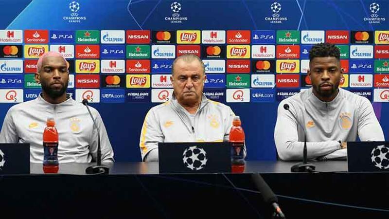 Fatih Terim, UEFA Şampiyonlar Ligi A grubu ilk maçı öncesi öncesi toplantısı düzenledi