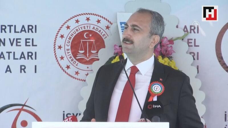 Abdulhamit Gül: ''Güvenilen ve erişilebilinen bir adalet bizim bu millete boynumuzun borcudur''