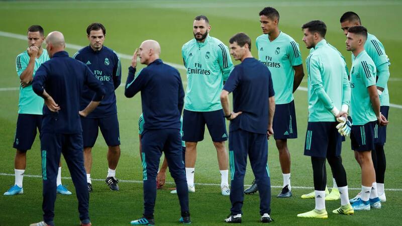 Zidane: Benzema'yı her zaman takımımda isterim