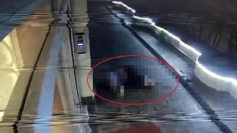 Esenyurt'ta kadının sır ölümü kamerada