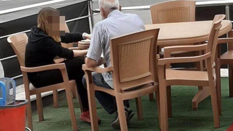 Yaşlı adam, liseli kızı taciz ettiği iddiasıyla gözaltına alındı