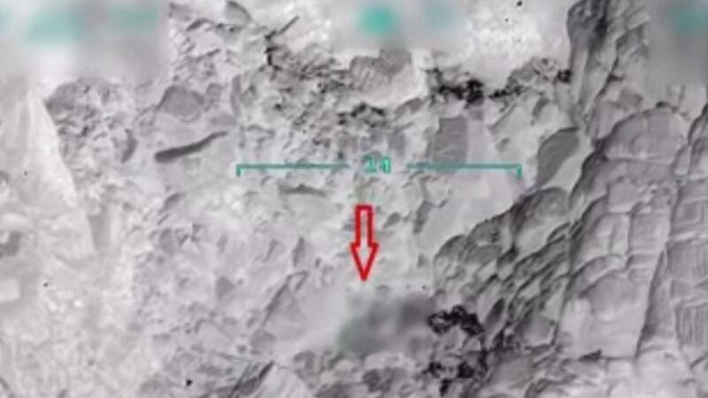 PKK'nın cephaneliği tam isabetle vuruldu