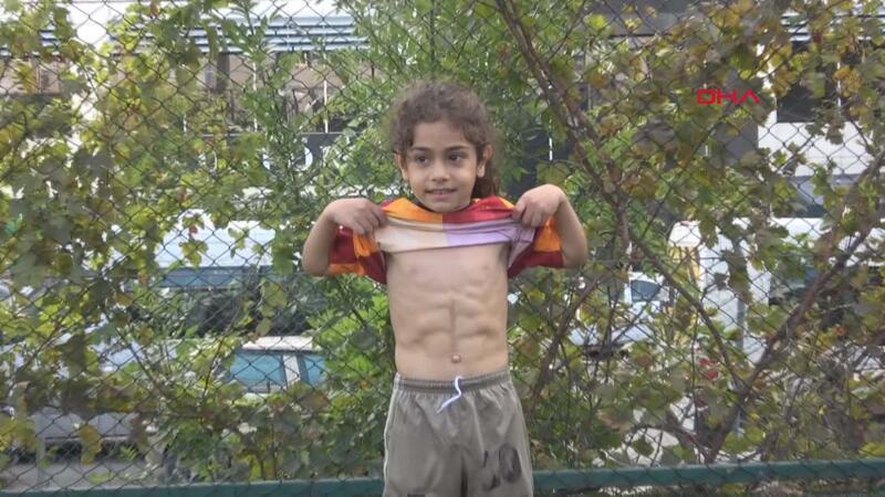 5 yaşındaki sporcu Türkiye'de antrenman yapıyor