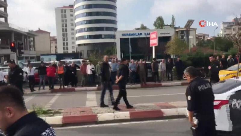 Kartal Anadolu Adliyesi'nde silah sesleri