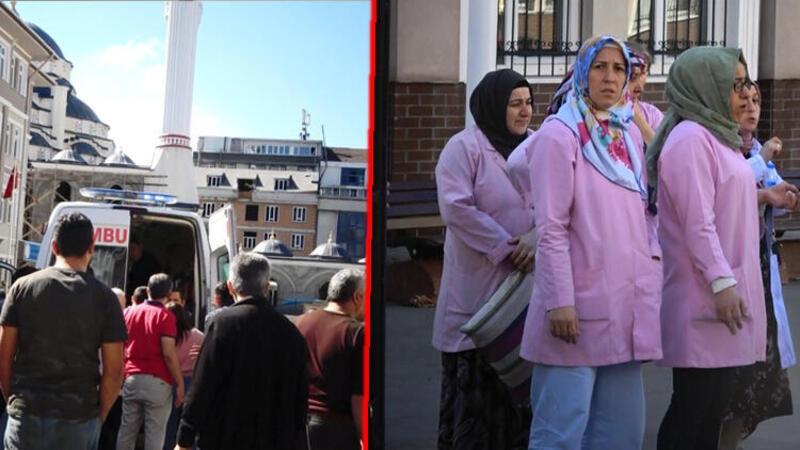 Sultangazi'de okula girmek isteyen 2 kişi güvenlik görevlisini darp etti