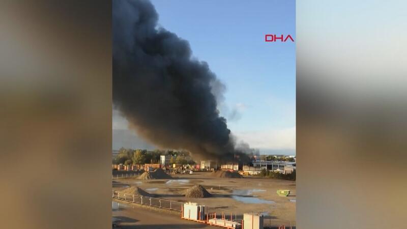 Avusturya'da havaalanı yakınındaki çöp arıtma tesisinde patlama: 9 yaralı