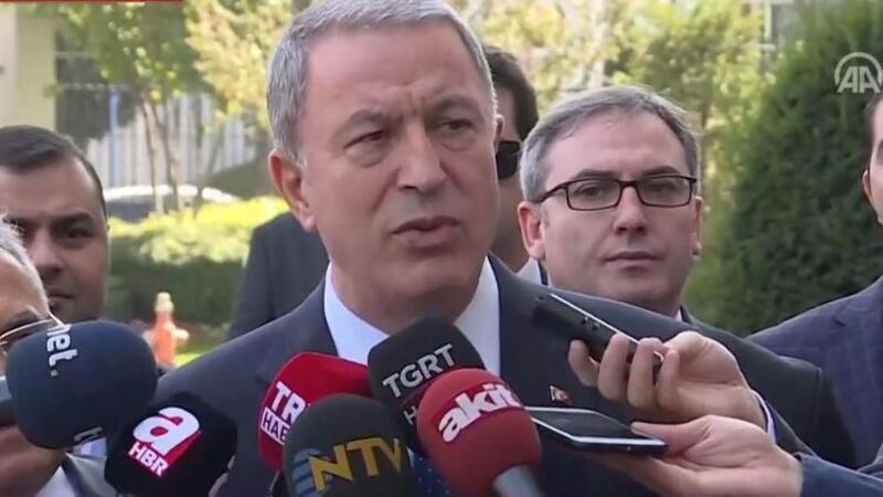 Milli Savunma Bakanı Hulusi Akar: Harekat başarıyla devam ediyor