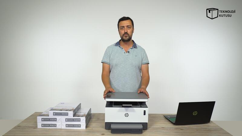 HP'den dünyanın ilk toner doldurulabilir tanklı lazer yazıcı!