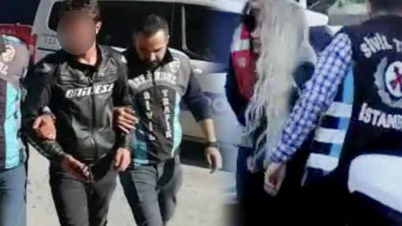 İstanbul'u altını üstüne getiren maganda çift yakalandı