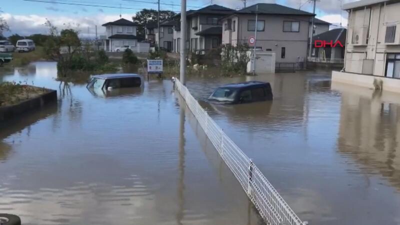 Japonya'da Hagibis Kasırgası 19 ölü, 100 yaralı, 20 kayıp