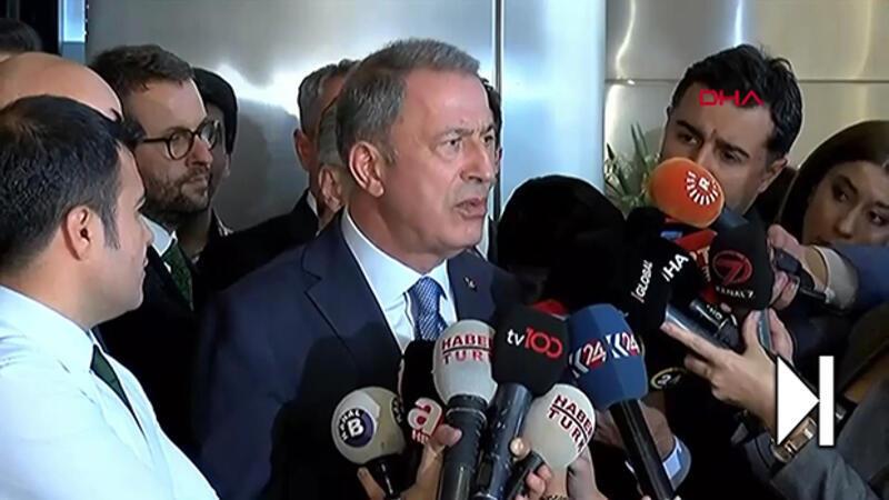 Bakanı Akar'dan harekat mesajı: Olabildiğince kısa zamanda tamamlamaya çalışacağız