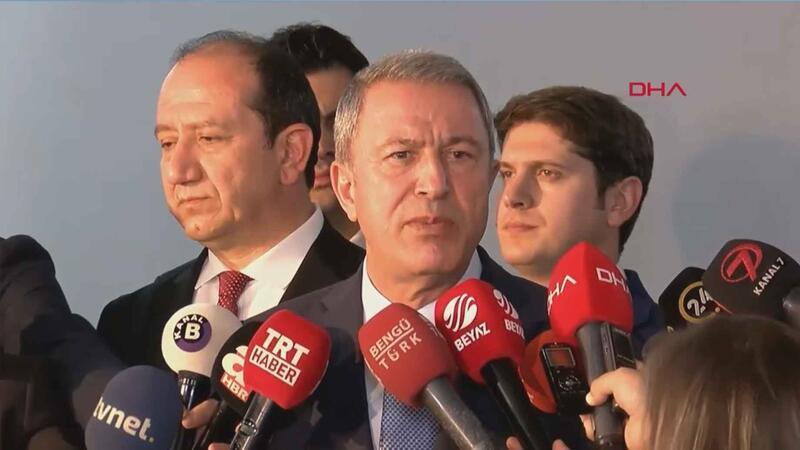 Bakan Akar, MHP ziyaretinin ardından açıklamalarda bulundu