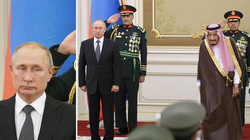 Suudi Arabistan ordusunun Rus marşı performansı Putin'i şaşkına çevirdi