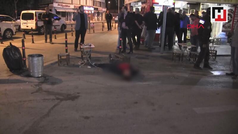 Konya'da silahlı kavga 2 kişi yaralandı