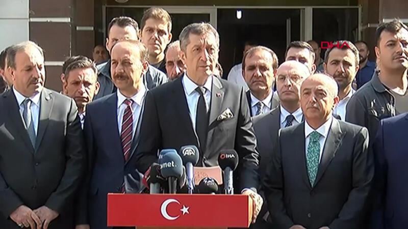 Milli Eğitim Bakanı Ziya Selçuk, Akçakale'de açıklamalarda bulundu